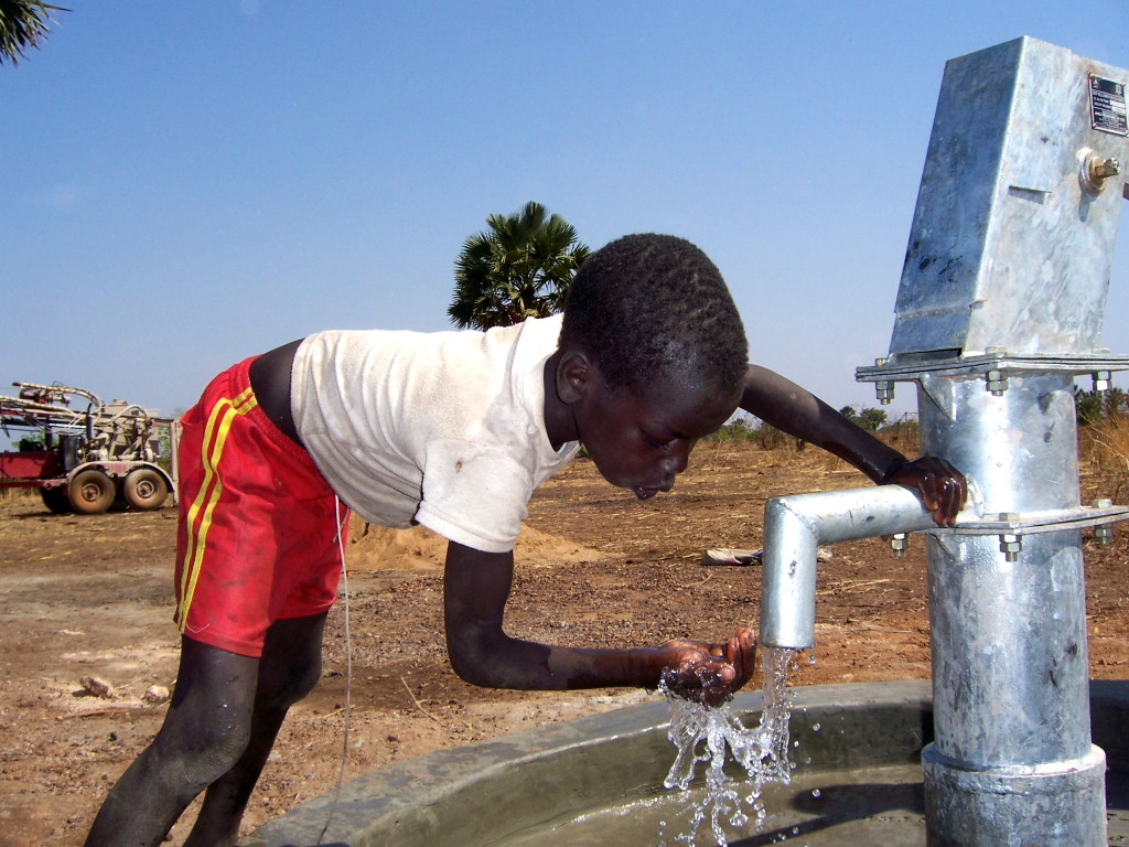 A drilled well in Tambala village will provide clean water to 1,200+ people.
