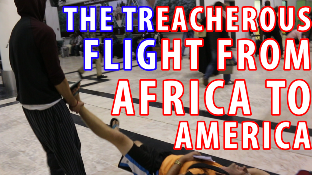 the treacherous flight from africa to america