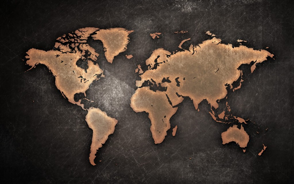 world_map_on_texture-wide